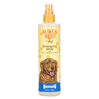 Burt's Bees, Detangling Spray for Dogs with Lemon Oil and Linseed Oil, 10 fl oz (296 ml)