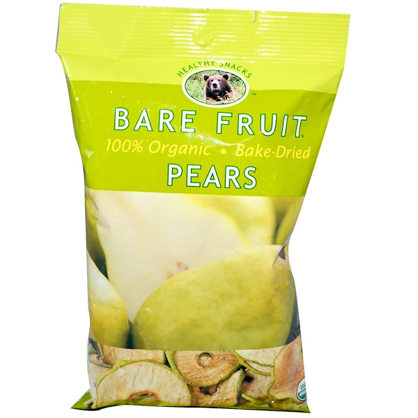 Bare Fruit, Pear Chips, 2.6 oz (73 g) (Discontinued Item)
