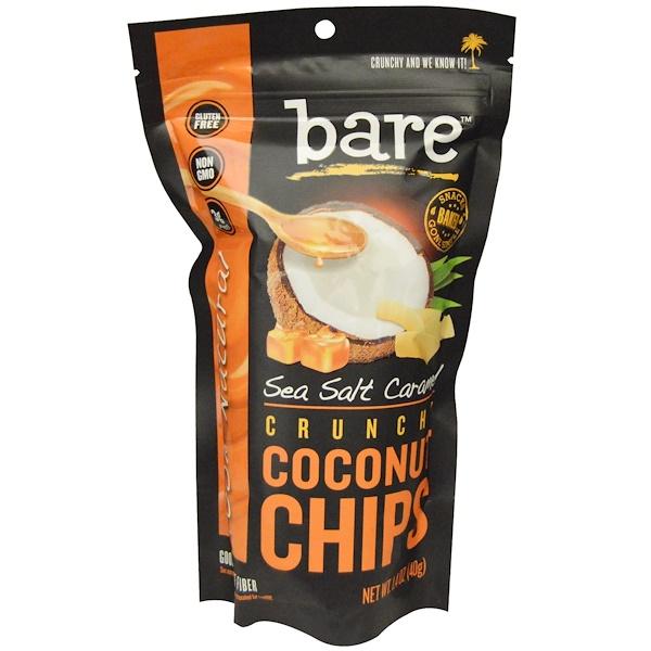 Bare Fruit, Coconut Chips, Sea Salt Caramel, 1.4 oz (40 g) (Discontinued Item)