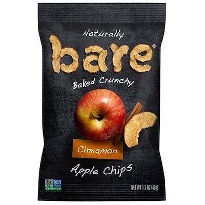 Bare Snacks 天然烤脆,蘋果片,肉桂,1.7盎司(48克)