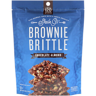 Sheila G's, Brownie Brittle, Chocolate Almond, 5 oz (142 g)