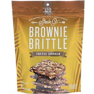 Sheila G's, Brownie Brittle, Toffee Crunch, 5 oz (142 g) отзывы покупателей