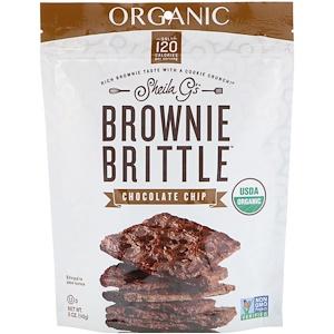Sheila G's, Organic, Brownie Brittle, Chocolate Chip, 5 oz (142 g) отзывы