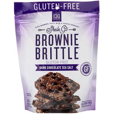 Купить Sheila G's Brownie Brittle, Gluten-Free, Dark Chocolate Sea Salt, 5 oz (142 g)