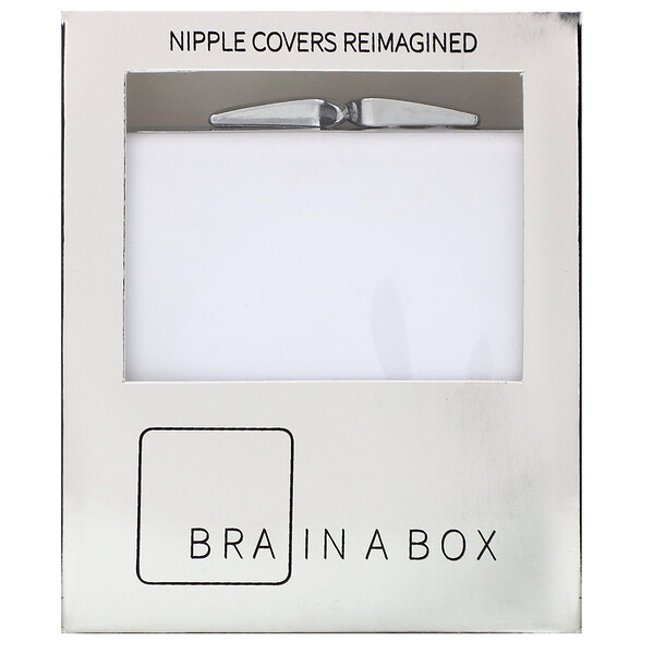 Bra in a Box, Classic Box with Nipcos, Light, 1 Pair