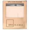 Bra in a Box, Luxe Box with Nipcos, Light, 1 Pair