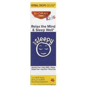 Баорэй, Kids, NDF Sleepy, Relax The Mind & Sleep Well, Maple, 2 fl oz (60 ml) отзывы покупателей