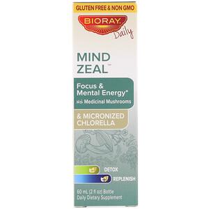 Баорэй, Mind Zeal, Focus & Mental Energy, Alcohol Free, 2 fl oz (60 ml) отзывы покупателей