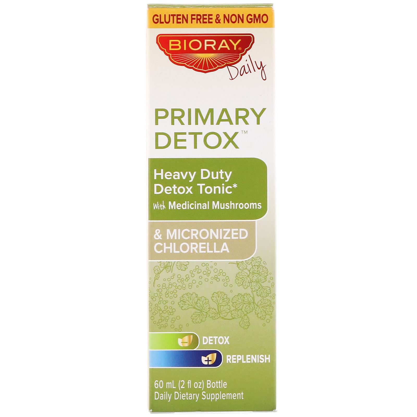 Bioray Inc , Primary Detox, Heavy Duty Detox Tonic, Alcohol