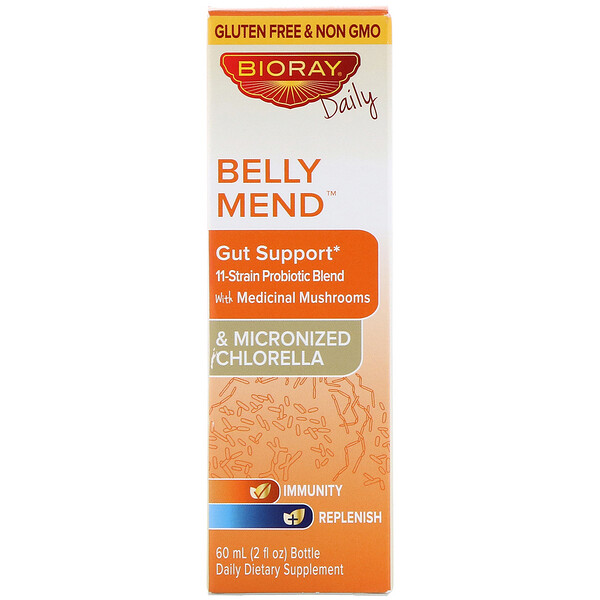 Belly Mend, Gut Support, Alcohol Free, 2 fl oz (60 ml)