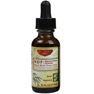 Bioray Inc., NDF (Natural-Organic-Detox), 1 fl oz (30 ml)