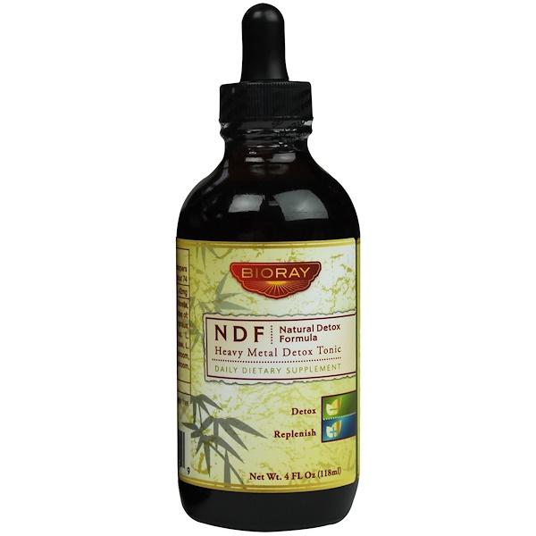 Bioray Inc., NDF (Natural-Organic-Detox), 4 fl oz (118 ml) (Discontinued Item)