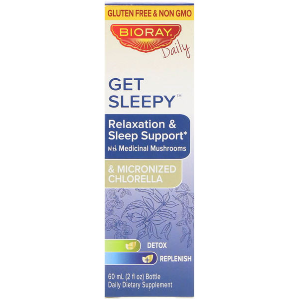 Bioray Inc., Get Sleepy, Relaxation & Sleep Support, 2 fl oz (60 ml)