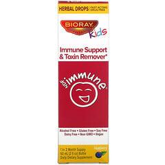 Bioray, Kids, Immune Support & Toxin Remover, Blueberry Flavor, 2 fl oz (60 ml)