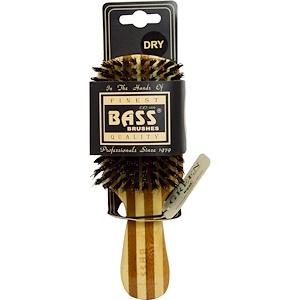 Бэсс Брашес, Classic Men's Club Style, Hair Brush, 100% Wild Boar Bristles, Wood Handle, 1 Hair Brush отзывы