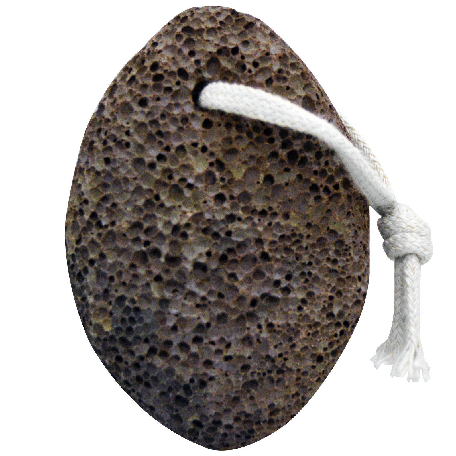 Bass Brushes, Настоящий вулканический камень, Для рук, ног & тела, 1 камень