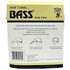 Bass Brushes, Super Absorbent Hair Towel, White, 1 Piece