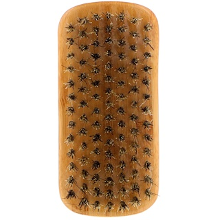 Bass Brushes, ひげ用ブラシ、長いひげ用の硬めの毛質、1個