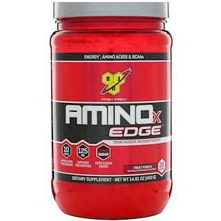 BSN, Amino-X Edge, Golpe frutal, 14.81 oz (420 g)
