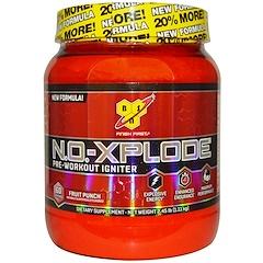 BSN, N.O.-Xplode, Pre-Workout Igniter, Fruit Punch, 2.45 lbs (1.11 kg)