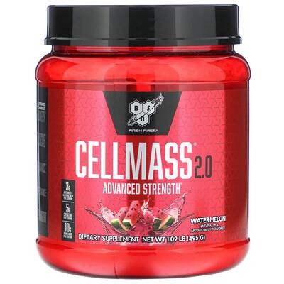 Cellmass 2.0, концентрированное средство для восстановления после тренировки, арбуз, 495 г (1,09 фунта)