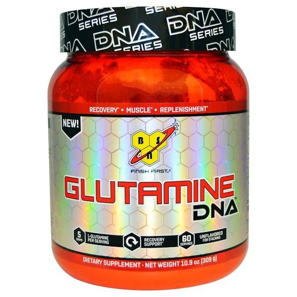BSN, DNA Series, Glutamine DNA, Unflavored, 10.9 oz (309 g)