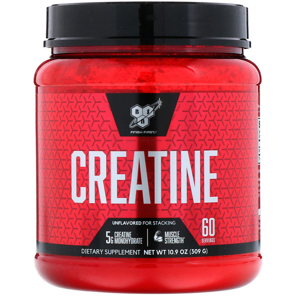 Creatine, Unflavored, 10.9 oz (309 g)