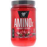 Отзывы о BSN, AminoX, формула с аминокислотами с разветвленной цепью,без кофеина, арбуз, 15.3 унц/ (435 г)