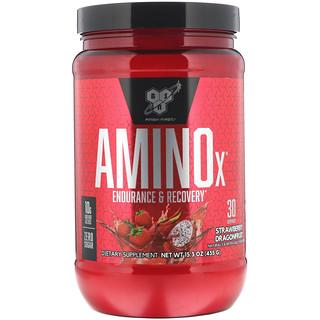 BSN, Amino-X, Endurance & Recovery, Strawberry Dragonfruit, 15.3 oz (435 g)