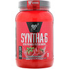 BSN, Syntha-6, Protein Powder Drink Mix, Strawberry Milkshake, 2.91 lbs (1.32 kg)