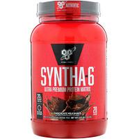 Syntha-6, порошок для приготовления белкового напитка, шоколадный молочный коктейль, 2,91 фунта (1,32 кг) - фото