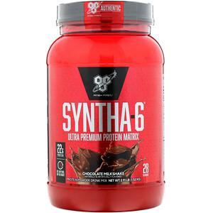 БСН, Syntha-6, Ultra Premium Protein Matrix, Chocolate Milkshake, 2.91 lbs (1.32 kg) отзывы покупателей