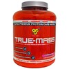 BSN, True-Mass, Ultra Premium Protein/Carb Matrix, Strawberry Milk Shake, 5.82 lbs (2.64 kg)