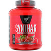 BSN, Syntha-6, Ultra Premium Protein Matrix, Strawberry Milkshake, 5.0 lbs (2.27 kg)