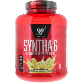 BSN, Syntha-6, Ultra Premium Protein Matrix, Banana, 5 lb (2.27 kg)