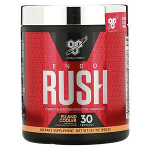 БСН, ENDORUSH, Pre-Workout, Island Cooler, 13.7 oz (390 g) отзывы покупателей