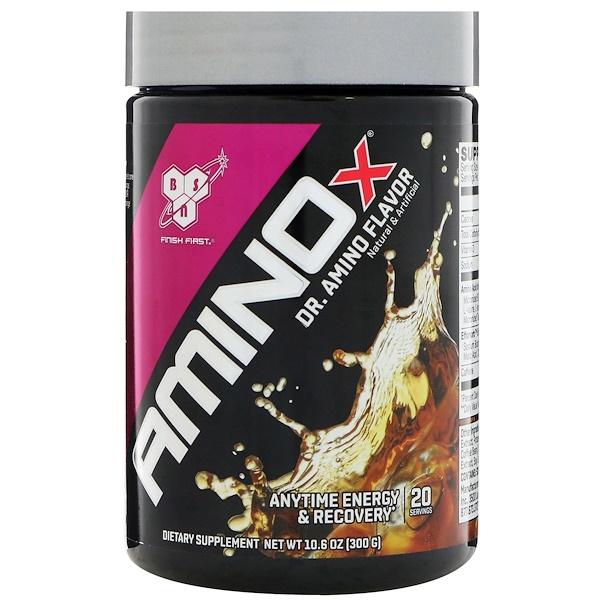 BSN, AminoX, Dr. Amino Flavor, 10.6 (300 g) (Discontinued Item)