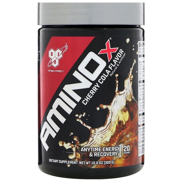 BSN, AminoX, Cherry Cola Flavor, 10.6 oz (300 g) (Discontinued Item)