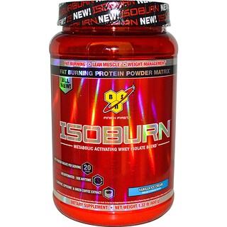 BSN, Isoburn, Mezcla de Aislado de Suero Activador Metabólico, Helado de Vainilla, 1.32 lb (600 g)