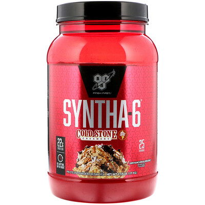 Купить BSN Syntha-6, Cold Stone Creamery, GERMANCHOKOLATEKAKE, 2.59 lb (1.17 kg)
