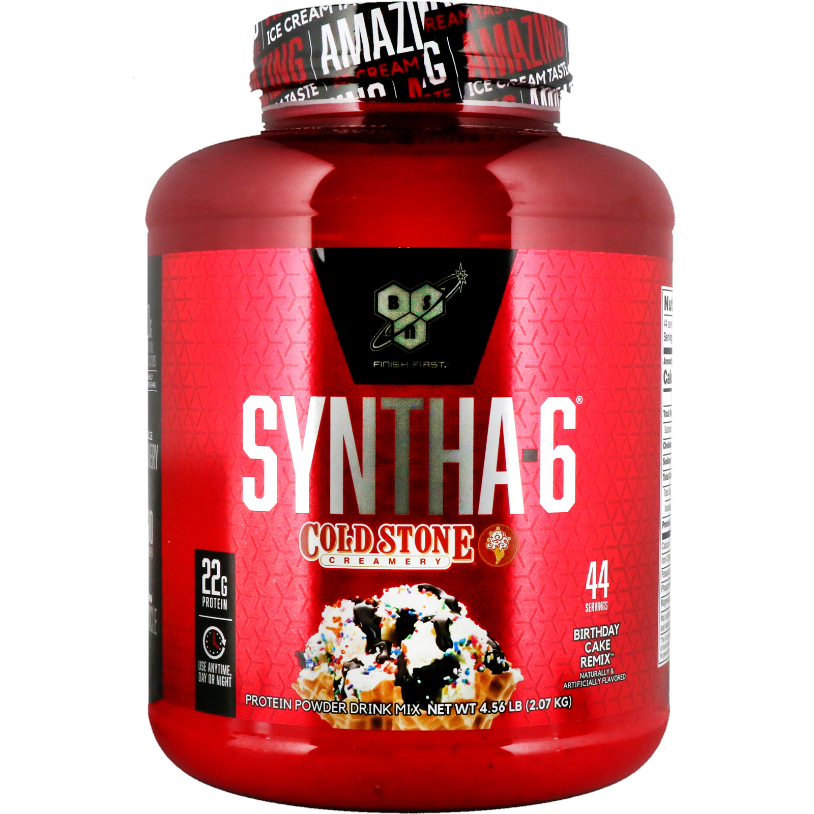 Bsn Syntha 6 Cold Stone Creamery Birthday Cake Remix 456 Lb