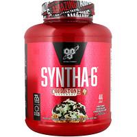Syntha-6, Cold Stone Creamery, мятно-мятная и шоколадно-шоколадная крошка, 4.56 ф. (2,07 кг) - фото