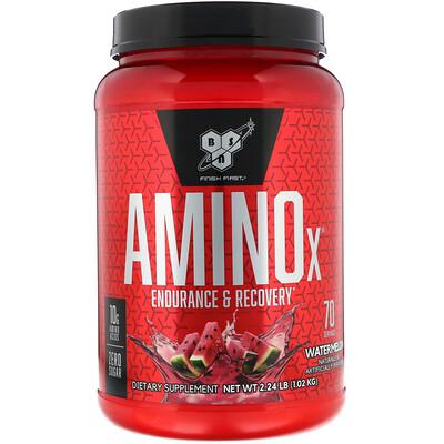 Купить BSN AminoX, выносливость и восстановление, арбуз, 1, 02 кг (2, 24 фунта)