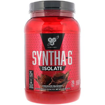 Изолят Syntha-6, протеиновая смесь для приготовления напитков, шоколадный молочный коктейль, 2,01 фунта (912 г)