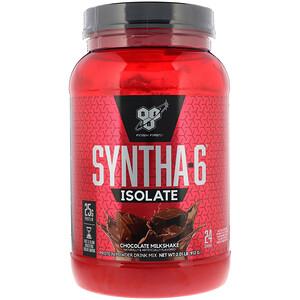 БСН, Syntha-6 Isolate, Protein Powder Drink Mix, Chocolate Milkshake, 2.01 lb (912 g) отзывы