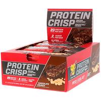 Протеиновые чипсы, шоколадный хрустящий вкус, 12 батончиков, 2,01 унц. (57 г) каждый - фото