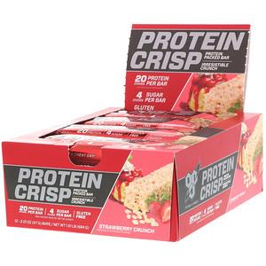 БСН, Protein Crisp, Strawberry Crunch, 12 bars, 2.01 oz (57 g) Each отзывы покупателей