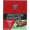 BSN, Protein Crisp, Mint Mint Chocolate Chocolate Chip, 12 Bars, 2.01 oz (57 g) Each