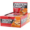BSN, Protein Crisp, Caramel Chocolate Crunch, 12 Bars, 2.05 oz (58 g) Each
