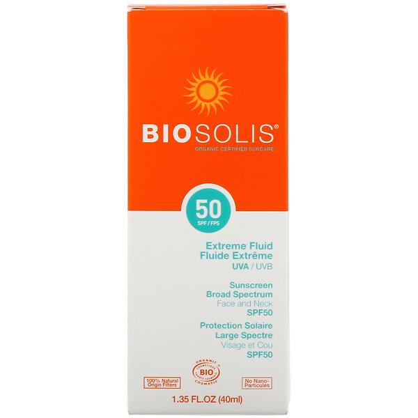 Protector solar líquido extremo, FPS 50, 40ml (1,35oz.líq.)